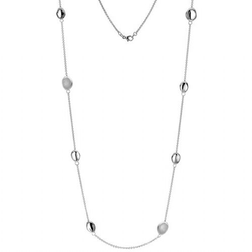 Silver Globule Necklace